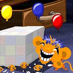קוף עצוב קוף שמח בלונים