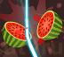 חותכת פירות